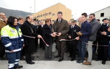 Vibo Marina, il Presidente Scopelliti inaugura area polifunzionale di Protezione Civile