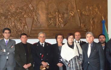 San Marco Argentano (CS), il colonnello Ferace ha visitato amministrazione comunale