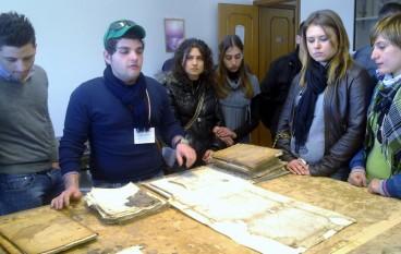 Locri (RC), partecipazione dell'Istituto alberghiero alla giornata di primavera del FAI