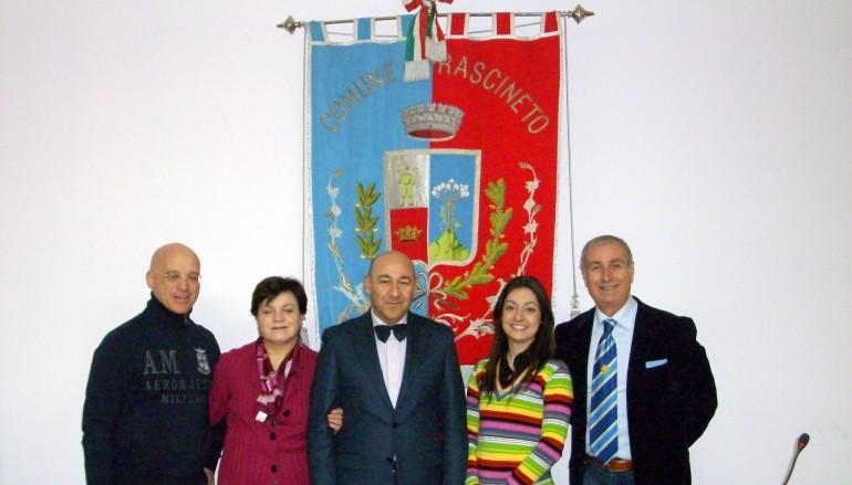 Frascineto (CS), decimo raduno nazionale della Vespa