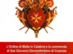 Cosenza, pubblicato il nuovo libro di Mariarosaria Salerno sull'Ordine di Malta
