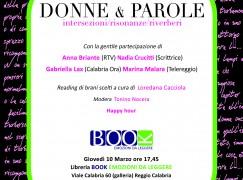 Reggio Calabria, evento Donne e Parole presso la Libreria Book emozioni da leggere