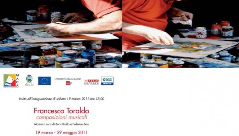 Acri (CS), al MACA personale di Francesco Toraldo