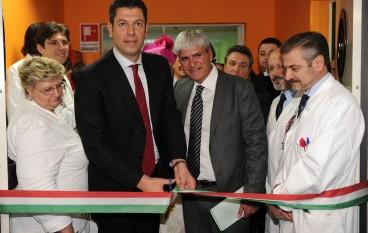 Regione, il Presidente Scopelliti ha inaugurato il reparto di ematologia dell'ospedale Annunziata di Cosenza