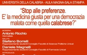 UniCal, convegno sulla funzione della legge elettorale in Calabria