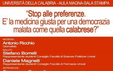 Cosenza, Unione Studentesca organizza Convegno su legge elettorale in Calabria
