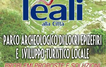 Locri (RC), 5° appuntamento di Leali alla città su Parco archeologico di Locri Epizefiri