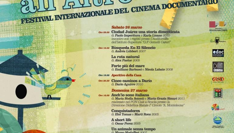 """Taurianova (RC), II edizione Festival Internazionale del Cinema Documentario """"Da un sud all'altro-Frontiere"""""""