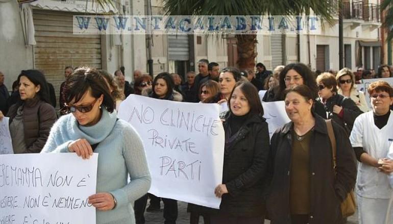 Melito Porto Salvo, manifestazione a favore del punto nascite