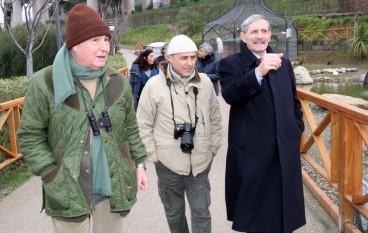 Catanzaro, Fulco Pratesi ha visitato il Parco della Biodiversità Mediterranea