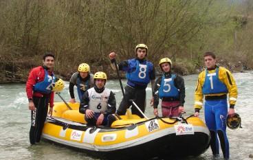 Laino Borgo (CS), si sono concluse le 2 giornate di gare del campionato italiano Rafting 2011