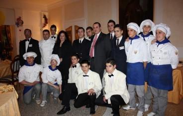 """Polistena (RC), gli studenti del """"G. Renda"""" sbarcano al Circolo Ufficiali di Venezia per uno stage"""