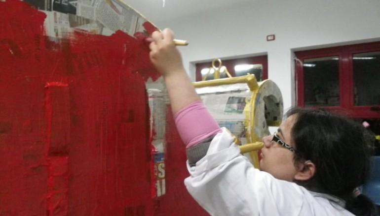 """Locri (RC), ragazzi disabili impegnati nel progetto """"diario delle favole"""""""