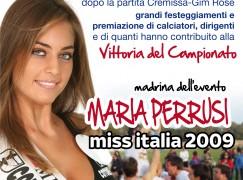 Cremissa, festa con Maria Perrusi Miss Italia 2009