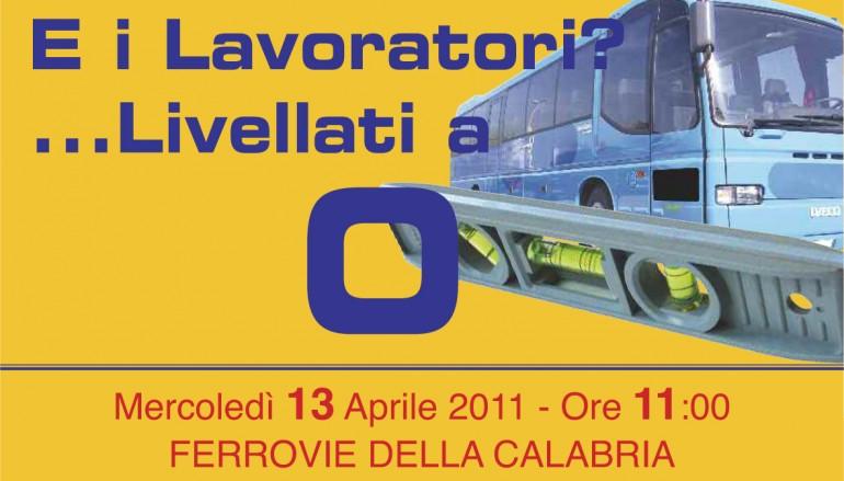 Cosenza, disagi ferrovie della Calabria. Il Psd annuncia una conferenza stampa