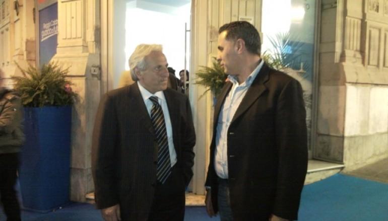 Reggio Calabria, Demetrio Arena incontra il presidente della Viola Muscolino