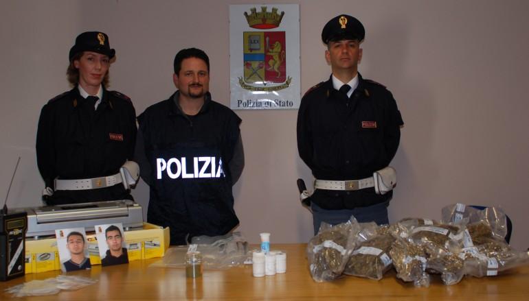Bagnara Calabra (RC), arrestati 2 fratelli per detenzione ai fini di spaccio di droga