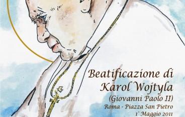 Bisignano (CS), fiaccolata del palio in onore del beato Papa Giovanni Paolo II