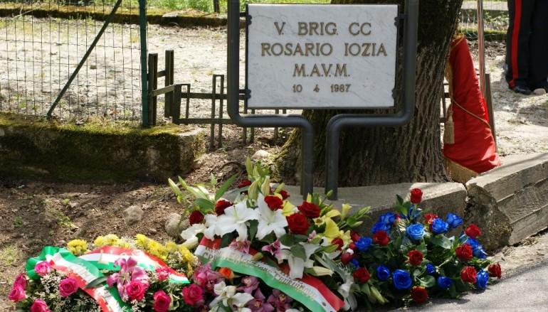 Cittanova (RC), commemorazione del Brigadiere dei CC Iozzia