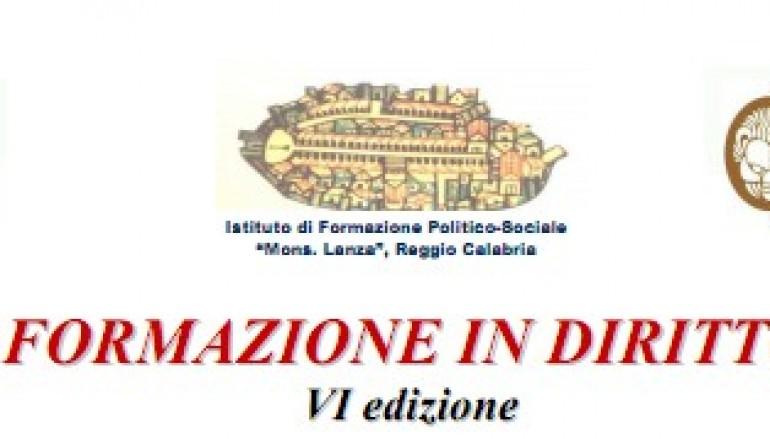 Reggio Calabria, riparte il corso di diritto europeo a scopo di beneficenza