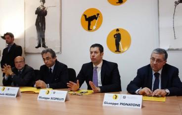 """Scopelliti è intervenuto alla firma del protocollo d'intesa tra """"Azienda Calabria Lavoro"""" e Uffici Giudiziari di Reggio"""