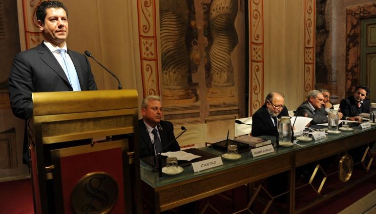 Regione, il Presidente Scopelliti a Roma alla presentazione di un volume sulla 'ndrangheta