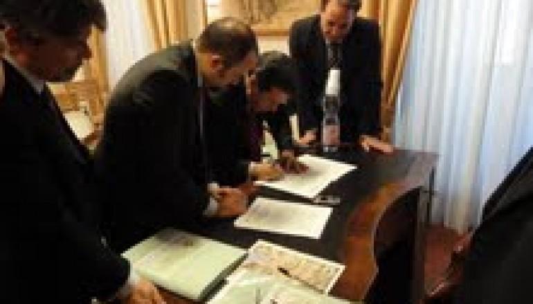 """Regione, sottoscritto a Roma il """"documento comune di intenti finalizzato alla gestione della risorsa acqua"""""""
