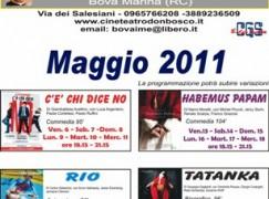 Cineteatro Don Bosco, Bova Marina, programma di Maggio 2011