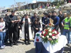 Bocale (RC), donata statua Madonna di Polsi a spiaggia del Calypso