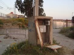 Lazzaro (RC), contatore ENEL in grave stato di abbandono