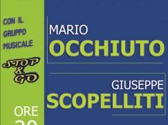 Cosenza, chiusura campagna elettorale candidato a sindaco Occhiuto