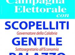 Rende (CS), chiusura campagna elettorale Innocenzo Palazzo