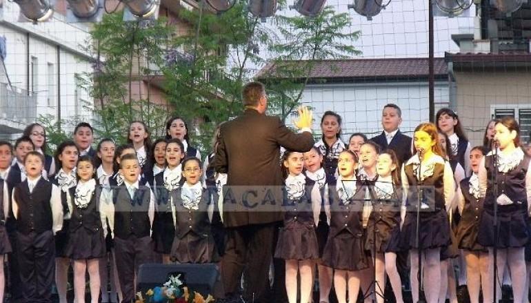Bova Marina, festa di fine anno della scuola elementare