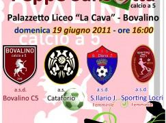 L'Asd Bovalino Calcio a 5 organizza il 3° Memorial Sansotta