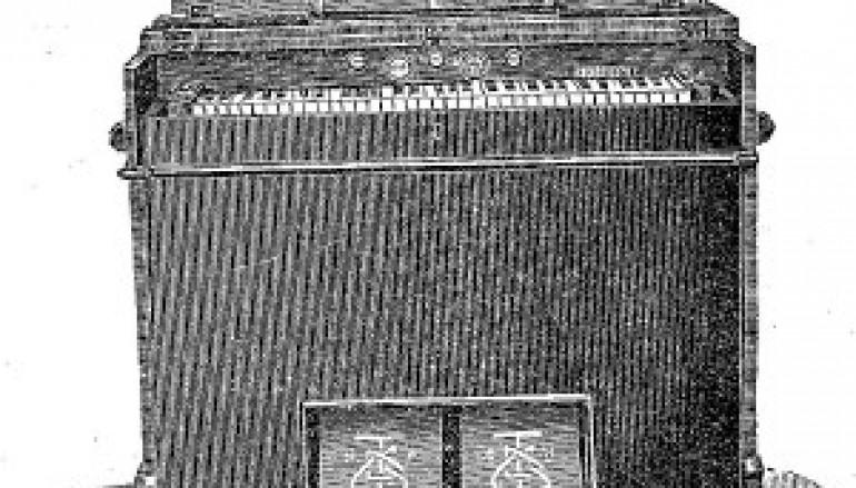 Il maestro Nicola Sgrò dona al Museo dello Strumento Musicale Armonium dell'800