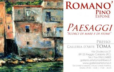 """Reggio Calabria, dal 9 luglio al 6 agosto mostra d'arte """"Scorci di mare e di fiume"""""""