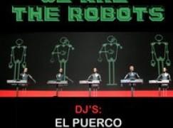 "Reggio Calabria, Amorepop presenta ""We are the robots. Electro party"""