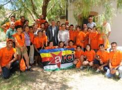 Il presidente Talarico incontra i giovani dei campi antimafia di Pentedattilo