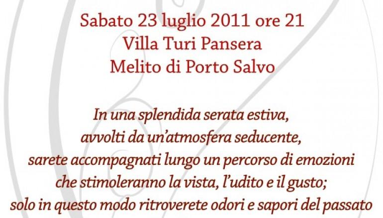"""Melito Porto Salvo (RC), il 23 luglio a Villa Turi Pansera """"Questo è il cuore"""""""