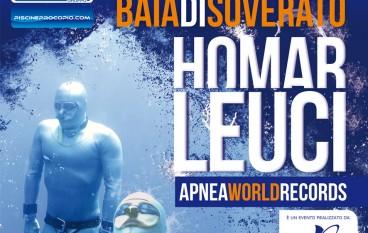 A Soverato (CZ) tentativo di record Mondiale di profondità in apnea