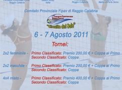Beach Volley 2011, il 6 e il 7 agosto tornei al Lido El Caribe