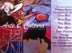 """A Bagaladi la mostra collettiva di pittura """"Arte è Cultura a Palazzo Misiano"""""""