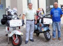 L'autismo sale in Vespa e arriva a Melito di Porto Salvo (RC)