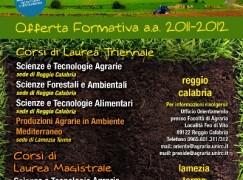 Università Agraria, presentata la nuova offerta formativa a.a. 2011-2012