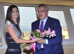 Regione, Talarico ha ricevuto a Palazzo Campanella Miss Italia