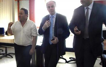 Il Presidente Raffa a Samo