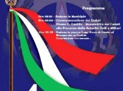 Melito Porto Salvo (RC), il 4 novembre Celebrazione dell'Unità Nazionale