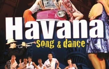 Havana Song And Dance in scena il 6 dicembre al Teatro Politeama (Cz)