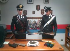 Platì (RC), deteneva armi illegalmente, arrestato 22enne