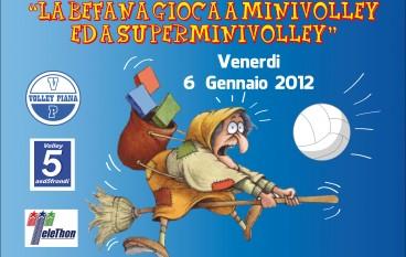 """Cinquefrondi (RC), 1^ Edizione de """"La befana gioca a minivolley e a superminivolley"""""""